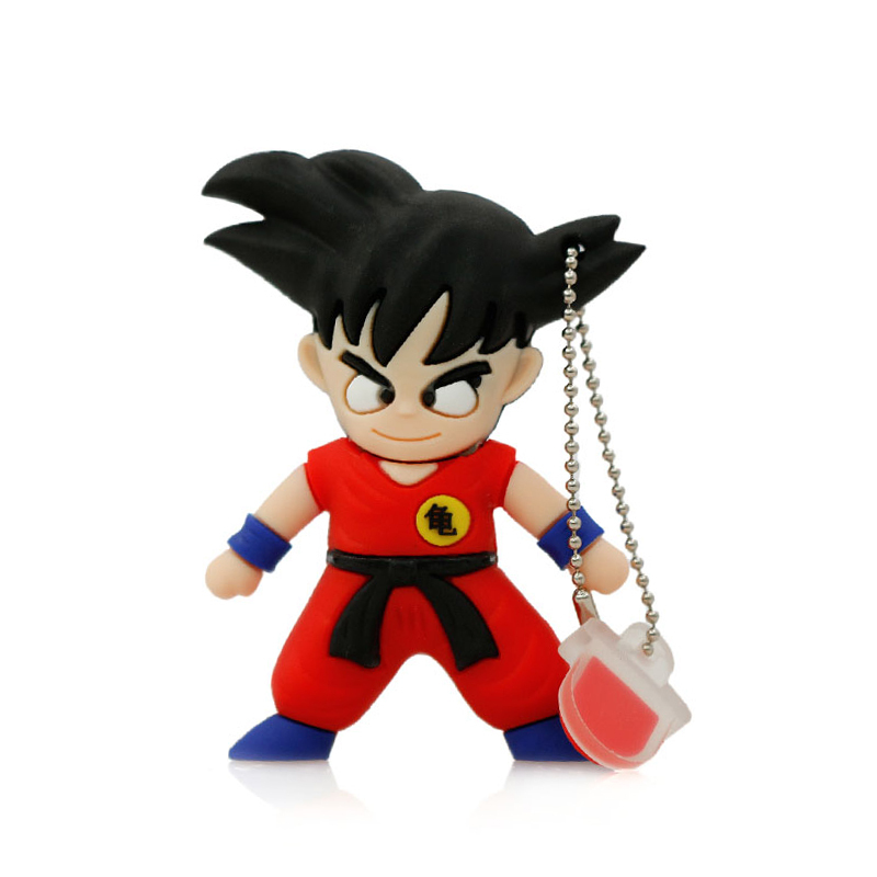 u disk pendrive cartoon Dragon Ball pendrive 2gb 4gb 8g 16g 32g 64g Kung fu Wukong usb flash drive gift pen drive memory stick(China (Mainland))