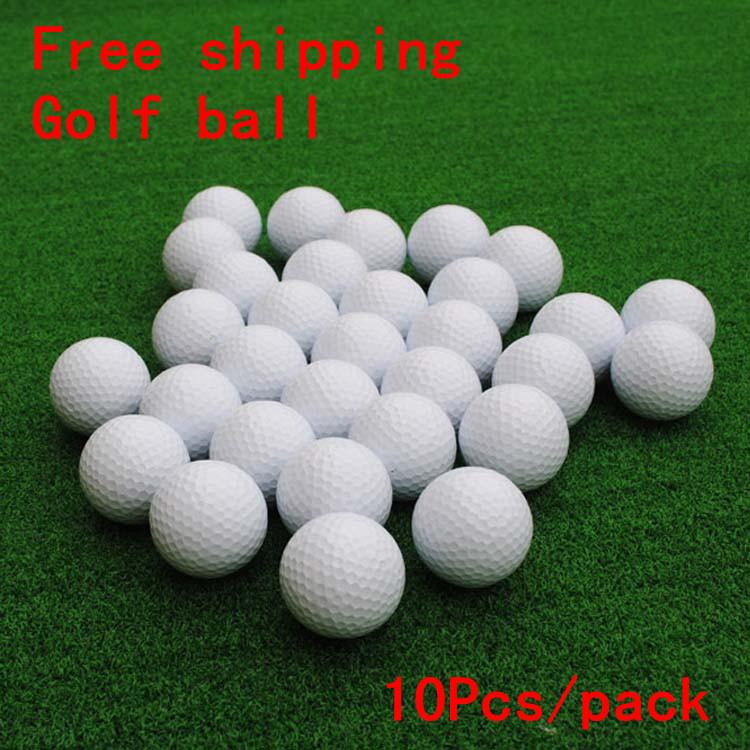 Free shipping Golf blank double-layer ball golf ball golf practice driving range(China (Mainland))