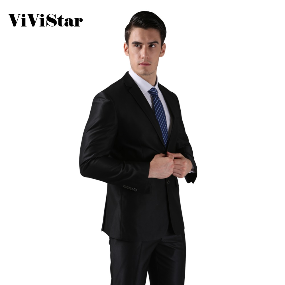 Jackets Pants 2016 New Men Suits Slim Custom Fit Tuxedo Brand Fashion Bridegroon Business Dress