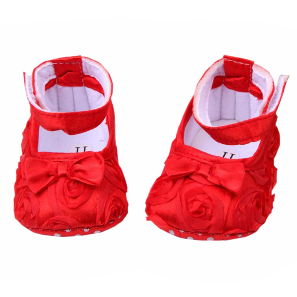 first walkers Baby kids Toddler Shoes sapato sapatos infantil bebe Spring Autumn Rose flower soft sole girl shoes 7 color<br><br>Aliexpress
