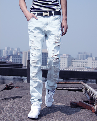 High Quality Tapered Jeans for Men Promotion-Shop for High Quality ...