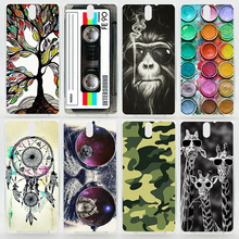 Case For Sony Xperia C4 C5 Ultra Colorful Printing Drawing Phone Protect Cover For Sony Xperia C4 Dual Plastic Hard Phone Case