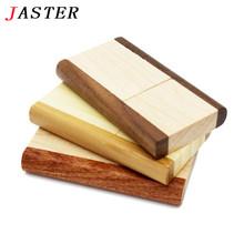 JASTER Original rotatable Wooden usb flash drive pendrive 4GB 8GB 16gb 32gb memory stick usb creativo Festival Gifts U disk(China (Mainland))