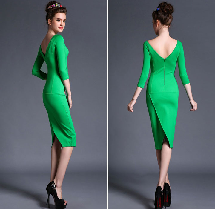 Fashion-Design-Women-Long-Sleeve-Simple-Green-Dress-Ladies-Bodycon-Sexy-Middle-Dresses-Low-Open-Back.jpg