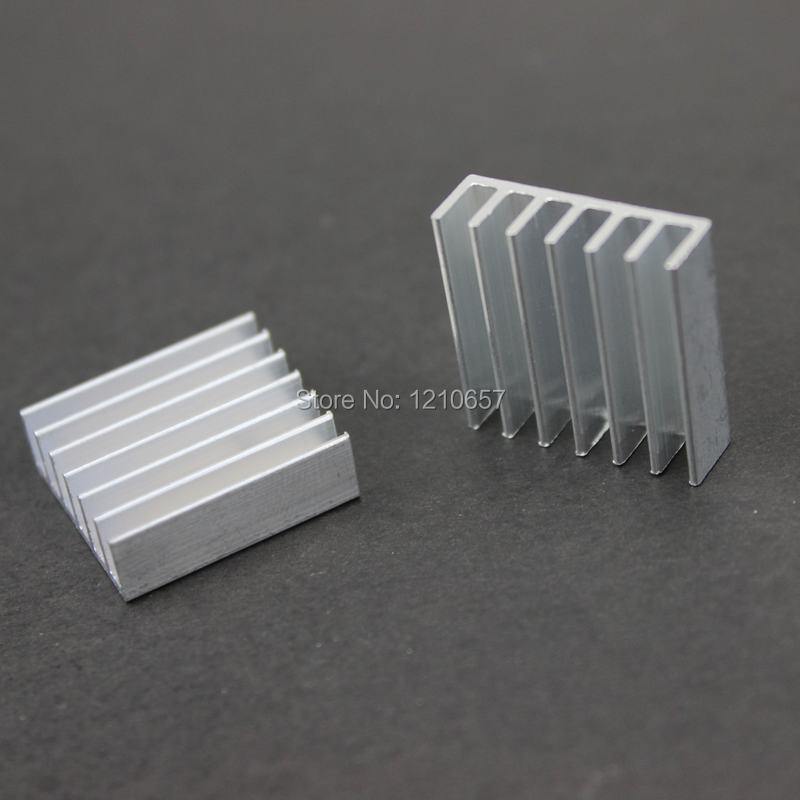 1000PCS 20 x 20 x 6mm 20mm Heat sink Cooling Aluminum Heatsink Cooler For  VGA Card Computer<br><br>Aliexpress