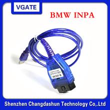 Новое поступление Inpa K + DCAN с выключателем с импортными FT232RL чип Ediabas код-ридер для bmw Inpa K + интерфейс USB кабель