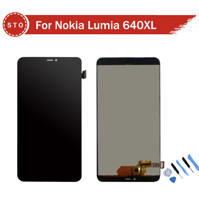 For Microsoft Nokia Lumia 640xl 640 xl LCD Display with Touch Screen Digitizer  Assembly +Tools Free Shipping