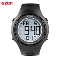 2017 Mens Fashion Casual LED Alarm Digital Watches 30M Waterproof Digital Dual Time Stopwatch Outdoor Sport