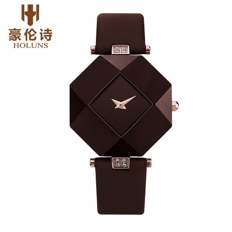 HOLUNS LL004 Watch Geneva Brand ice watches ladies Korean fashion trends women ceramic quartz watch relogio feminino(China (Mainland))