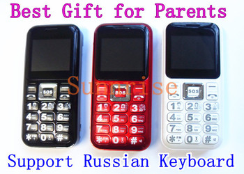 Russian Keyboard! Cheap Senior Phone H99 W02 with 2000mAh Big Battery Long Standby Best Gift for Parents Old Man/People Phone