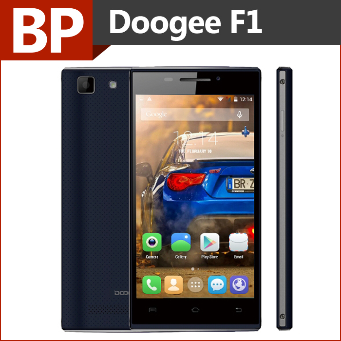 Original Doogee Turbo Mini F1 4G LTE 4.5 Inch QHD IPS MTK6732 Quad Core Android 4.4 Mobile Cell Phone 8MP CAM 1GB 8GB In Stock(China (Mainland))