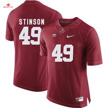 Nike 2017 Alabama Eddie Lacy 42 Can Customized Any Name Any Logo Limited Boxing Jersey Ed Stinson 49(China)
