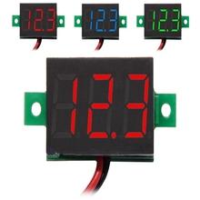 0.36 pulgadas Digital DC 3 – 30 V voltaje voltímetro LED Meter