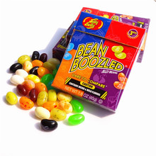 New 45g Sweet Candy Bean Strange Taste Food Snack Harry Potter Jelly Beans Candy Bean Boozled Halloween Christmas Gift(China (Mainland))