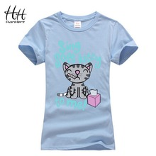 HanHent Women The Big Bang Theory Soft Kitty Female TShirt Cat Print Pet T shirt Couple Shirt paired lovers T-shirt with a cat(China (Mainland))