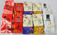 5 Kinds Flavours 10 packs Oolong Tea, Different Wulong including ,Dahongpao, Tieguanyin, Milk Oolong Tea  ,Free Shipping