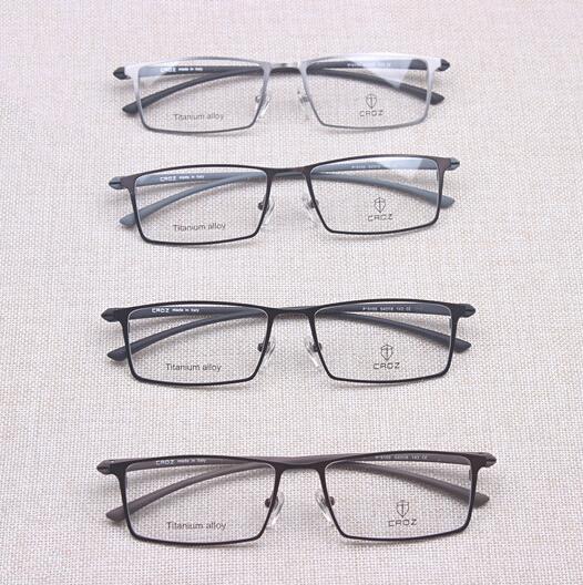 Top Quality Made in Shenzhen Eyeglasses Pure Titnaium Men Myopia Glasses Frames(China (Mainland))