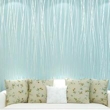 Wholesale Cheap High Quality Wallpaper Striped Wallpaper The Living Room Papel De Parede Infantil Roll Restaurant Wallpaper(China (Mainland))