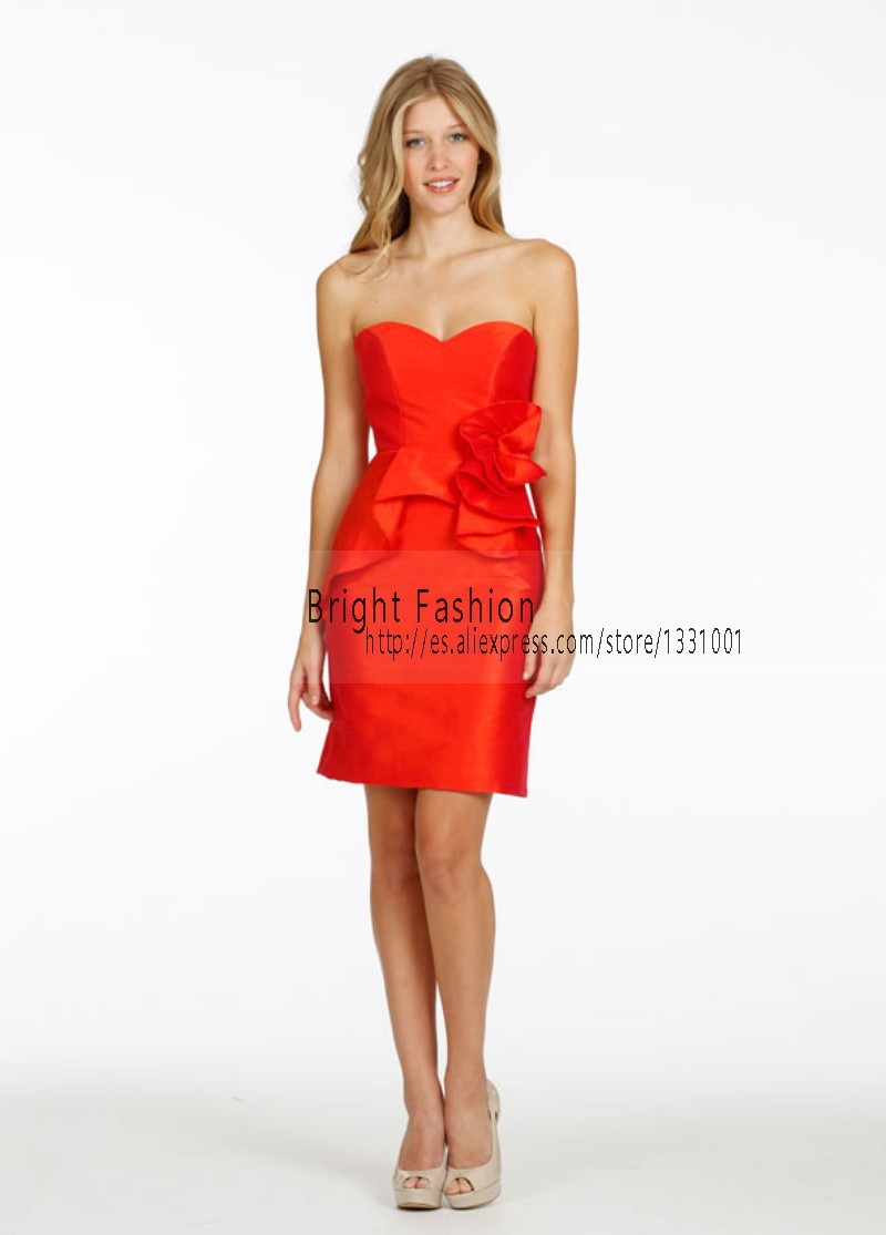 Sexy Orange Bridesmaid Dress Promotion-Shop for Promotional Sexy ...