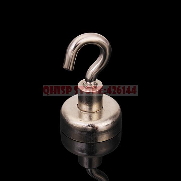 2015 Sale Atacado Magnets Neodymium Magnet 3 Pcs/lot _ N35 20x37mm Hook Pot Strong Rare Earth Salvage Tool