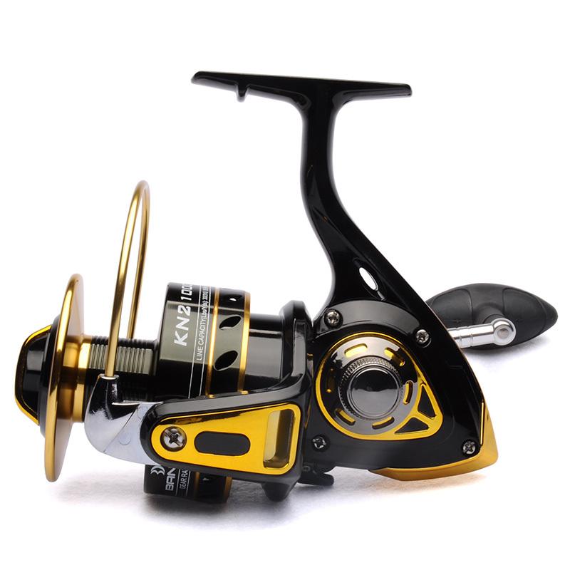 Big game fishing reel spinning reel 10000 11bb 4 2 1 front for Big game fishing reels