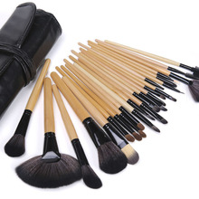 ONLY Pro 24 Pcs Makeup Brushes Cosmetic Tool Kits Eyeshadow Powder Brush Set Case