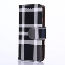 Gentleman Lattice Style Wallet Case for iPhone 6 Plus 6S Plus 5.5″ Fashion PU Leather Flip Cover Magnetic Cases Card Holder