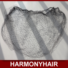 Cheap shipping 40 pieces/lot Nylon Hair Nets MIX Color Black and White, hairnets is used for package curly hair and wig cap(China (Mainland))