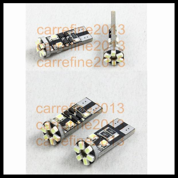 led T10 white backup reverse light error free w5w t10 canbus light bulb t10 led automotive lights(China (Mainland))