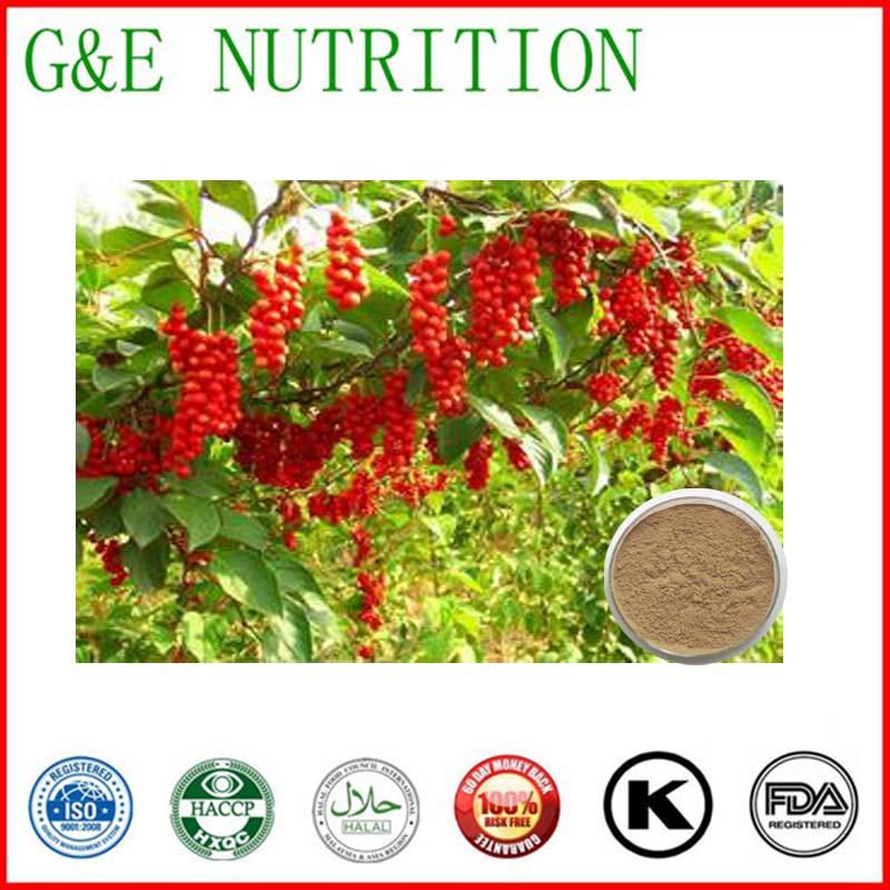 100% natural Schisandrae Extract / Schizandrins 700g<br><br>Aliexpress