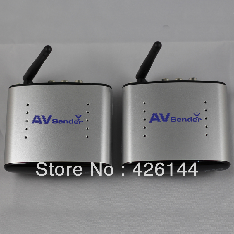 PAT-220 150m 2.4GHz Wireless A/V Transmitter Receiver Audio Video Sender with IR Signal Extension Wire for TV Set box DVD IPTV(China (Mainland))