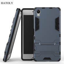 Buy Sony Xperia X Case Slim Hard Back Phone Cover Shockproof Robot Armor Hybrid Rugged Silicone Rubber TPU Case Sony X for $2.98 in AliExpress store