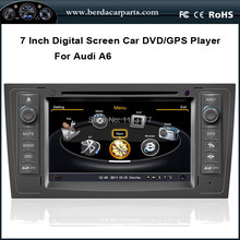 Car DVD For AUDI A6 S6 RS6 1997-2004 With FM/AM Radio RDS Bluetooth IPOD 3 Zone POP Free Map