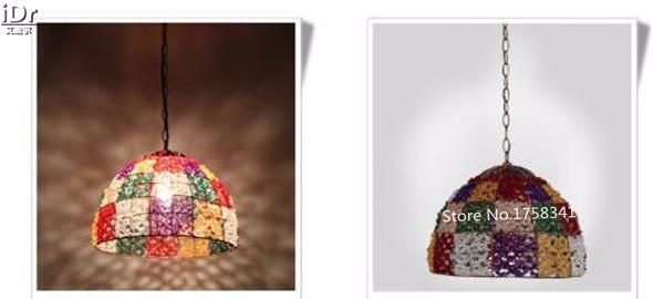 Купить Средиземноморский стиль лампы гостиной лампы спальни лампа цвет одиночные фары Подвесные Светильники Rmy-0650