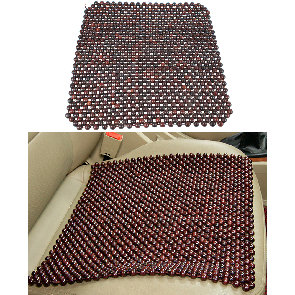 auto styling rosewood bead seat cushion car chair