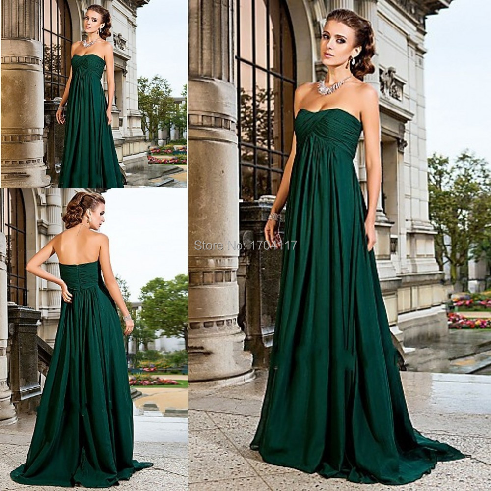 EMERALD GREEN BRIDESMAID DRESSES - Yuman Dakren