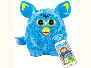 New 2015 Russian Language Firby Talking Plush Electronic Toys With Telephone Phone Christmas Electric Pets Gift boom LED eye(China (Mainland))