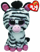 New TY Plush Animal Beanie Boos Stuffed Animals Izzy - Zebra 15cm/6'' Ty Big Eyes Soft Toys for Children Kids Gifts(China (Mainland))