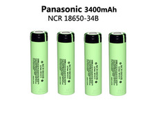 4pcs Free shipping Original 18650 NCR18650B 3400mah battery(China (Mainland))