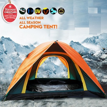 1-2 person tent Outdoor camping tent Wild tourism tents size 200cmx150cmx110cm 1.75kg(China (Mainland))