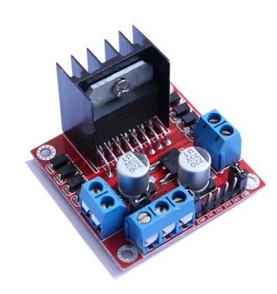 Free shippingRed board L298N motor driver board module, stepper motor, the intelligent vehicle, a robot(China (Mainland))