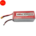 ZOP Li-poly Li On Lipo Battery 10000mAh 11.1V 25C 3S XT60 Plug For RC