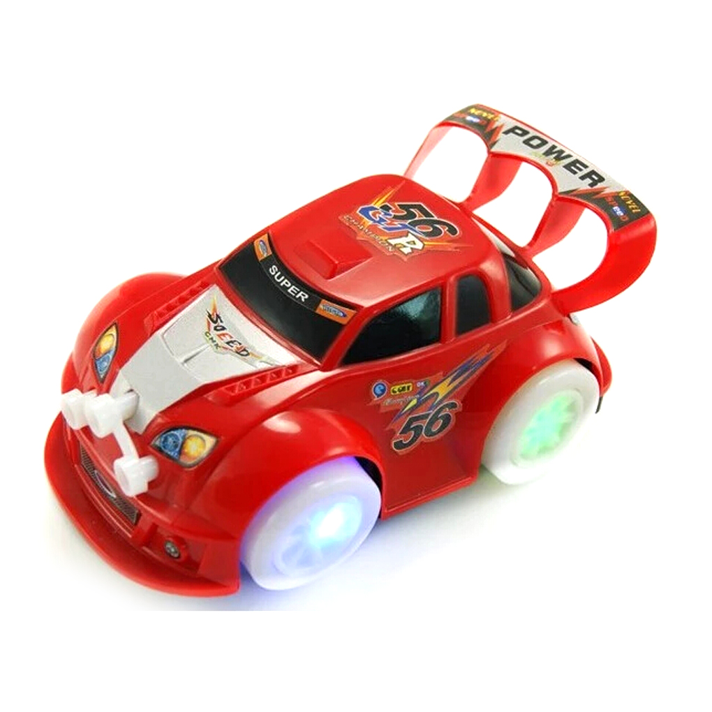 hot sale Girls Boys Cartoon Led Light wheel Music mini Car Toy Auto Drive for Gifts Random Delivery(China (Mainland))