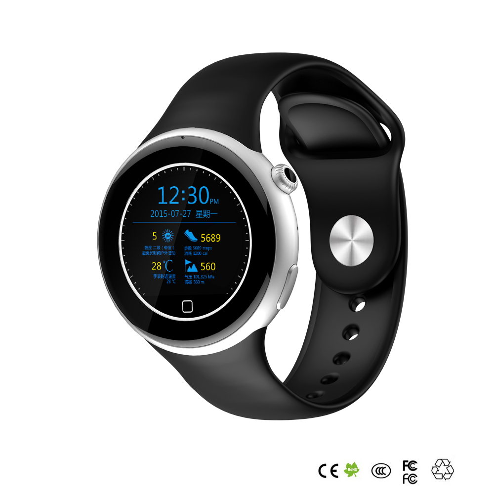 Intelligent Watch Pointer Digital Dual Display Watch Bluetooth Smart Running Sport Watch for Mobile Phone Ship DHL(China (Mainland))