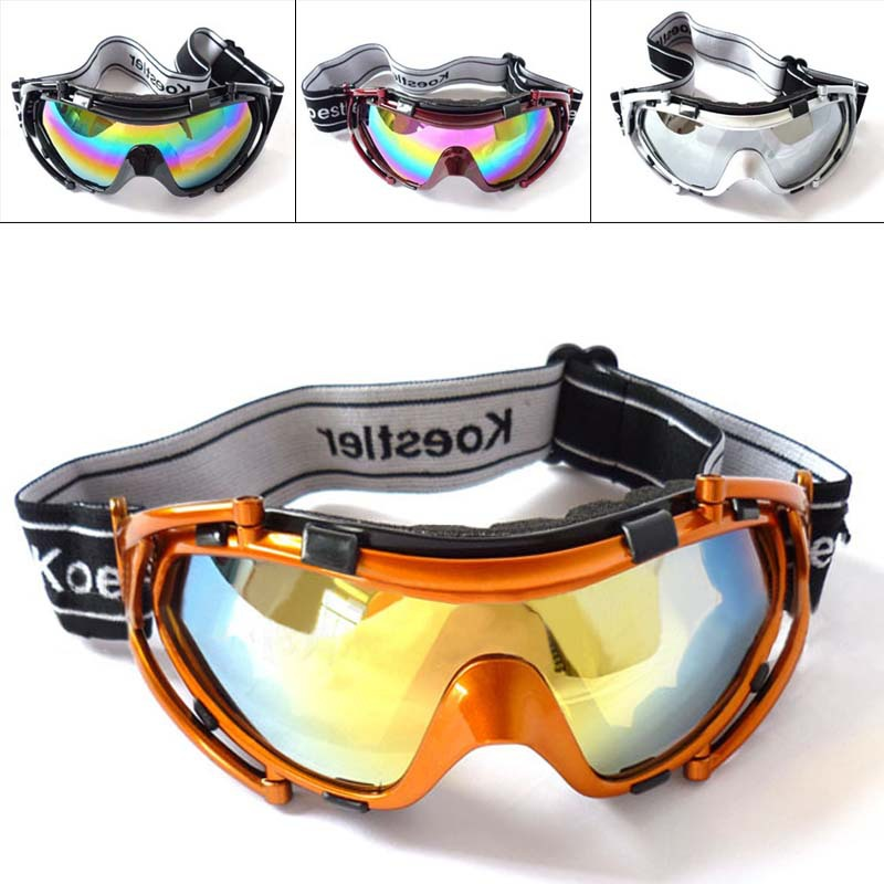Children 4 Fashion Run Ski Goggles Kid Anti Fog Lens Skiing And Snowboarding Cross-country Snow Motocross Snowboard Boys Glasses(China (Mainland))