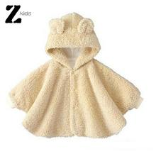 Winter Romper Baby Clothes Baby Romper Children Cloak Kids Brand Newborn Clothing Sets Home Wear Cartoon Clothes Thick Winter(China (Mainland))