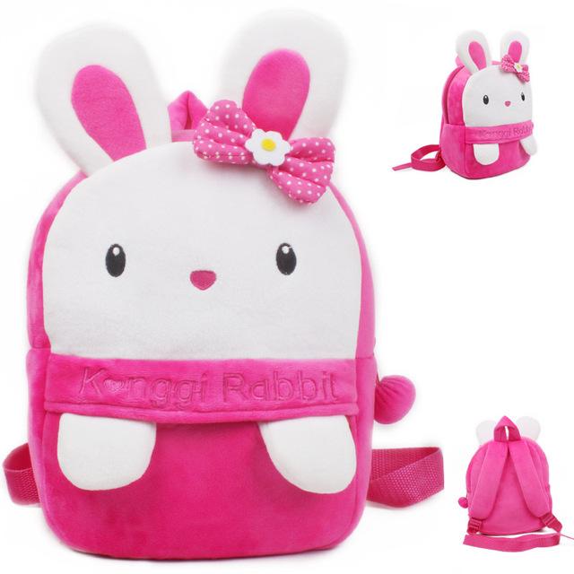 Новое поступление милый Konggi кролик плюша мультфильм рюкзак девушка характер мешок подарок для детей в возрасте 1 - 3 Mochila Infantil горячая распродажа