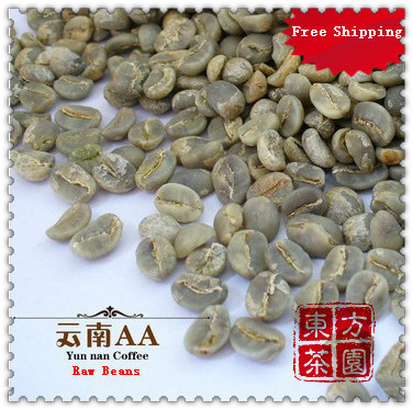 500G 100 High Quality Coffee Beans Yunnan AA Green Coffee Beans Green Coffee Been Export level