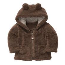 Осень зима новорожденных девочек сладкий длинным рукавом с капюшоном толстые теплые куртки дети младенческой принцесса верхняя одежда пальто ropa де ninas(China (Mainland))
