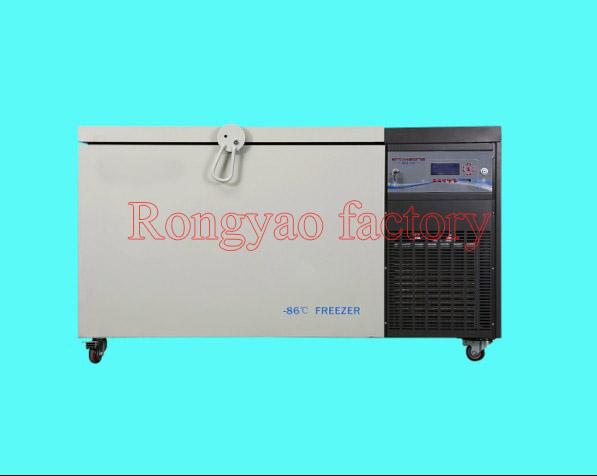 0~-86 degree below zero 208L horizontal ultra low temperature refrigerator thermostatic laboratory freezer box industry use(China (Mainland))